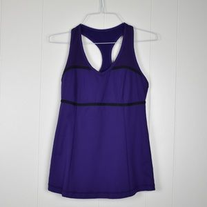 Lululemon Athletica Purple Tank Top Size 8